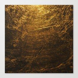gold vintage Canvas Print