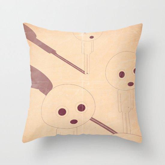 p e r p l e s s i Throw Pillow
