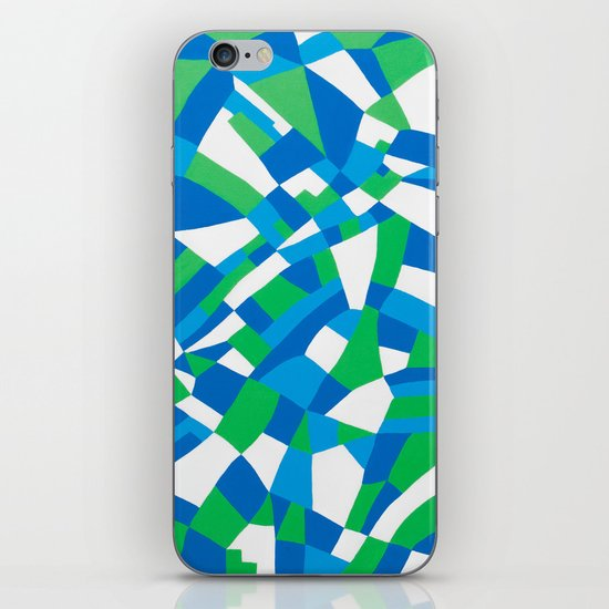 London Green iPhone & iPod Skin