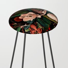 FLORAL AND BIRDS XIV Counter Stool