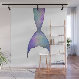 mermaid tail Wall Mural