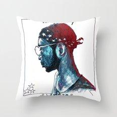 America Throw Pillow