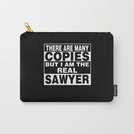 I Am Sawyer Funny Personal Personalized Gift Carry-All Pouch