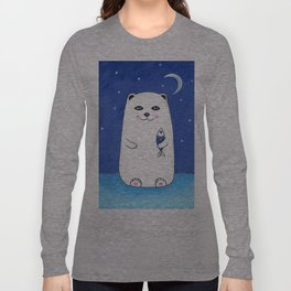 Winter Bear Long Sleeve T-shirt