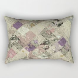 Abstract Geometric Background #25 Rectangular Pillow