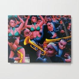 That Hot Jazz Rhythm by Archibald Motley Metal Print