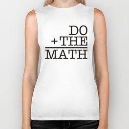 Do The Math Biker Tank