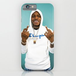 DaBaby Black white smile iPhone Case