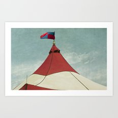 Big Top #2 Art Print