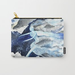 Winter Fairy Carry-All Pouch