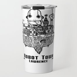 Robot Town Travel Mug