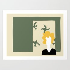 Matisse Does Hitchcock's Birds Art Print