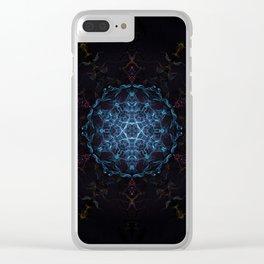 Stargate Mandala Clear iPhone Case