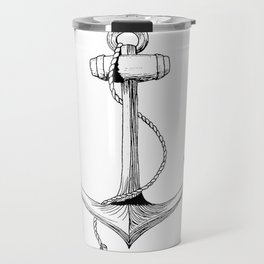 Anchor - W.E. Henley Travel Mug