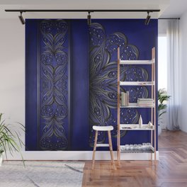 Silver ornament decoration Wall Mural