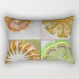 Uncounselable Unconcealed Flower  ID:16165-003208-67190 Rectangular Pillow