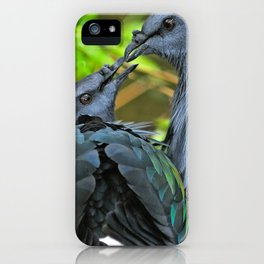 Nicobar Pigeon iPhone Case
