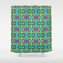 Ribbon Pattern 2 Shower Curtain
