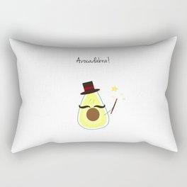 Avocado | Punny Fruits Rectangular Pillow