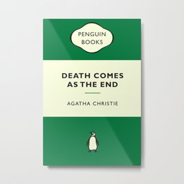 Death Comes As The End Metal Print