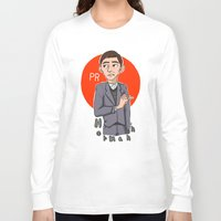 pacific rim Long Sleeve T-shirts featuring Herman Gottlieb Pacific Rim by TheDigitalPandora