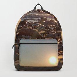 Majestic Beach Sunset Backpack
