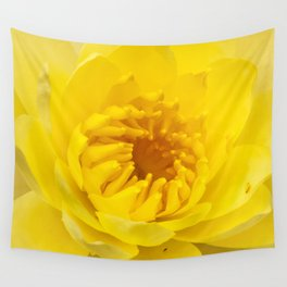 Yellow Lily Wall Tapestry