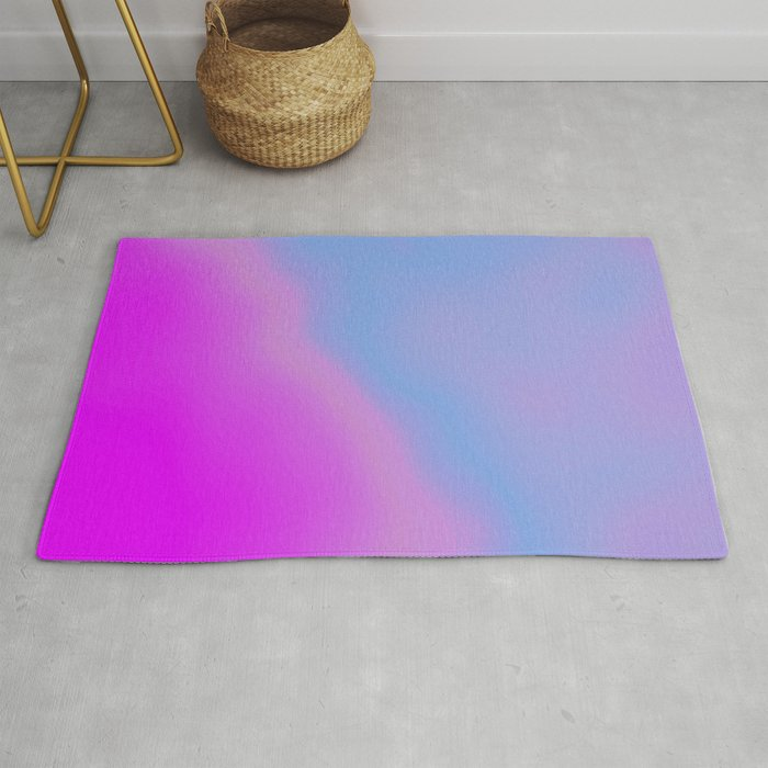 pink blue purple Rug