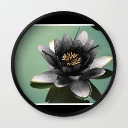 Black Lotus Wall Clock