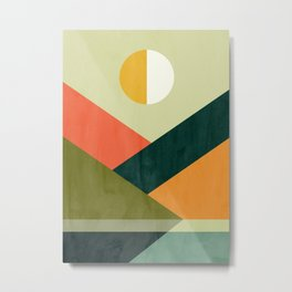 Hidden shore Metal Print