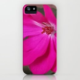Just Bloom iPhone Case