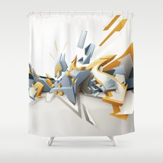 All directions Shower Curtain