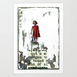 """""""On the Up & Up"""" Art Print"""