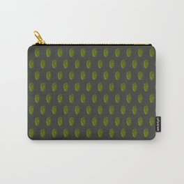 Hops Dark Gray Pattern Carry-All Pouch