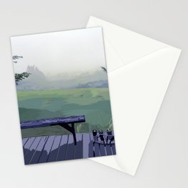 Serene Front Porch in Newberg Oregon Stationery Cards