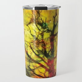 AbstractTree Travel Mug