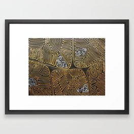 Mitochondrial Membranes Framed Art Print