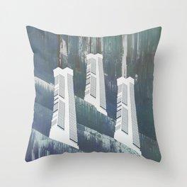 white chimneys / 19-09-16 Throw Pillow