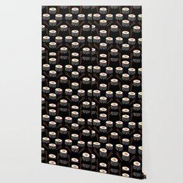 Eat Me in black Wallpaper