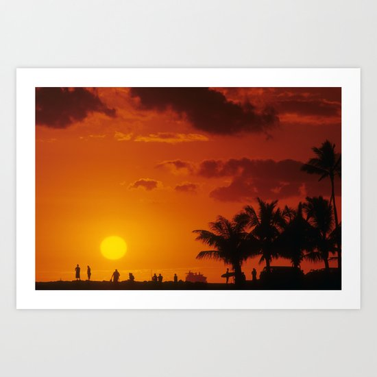 Day's End Art Print