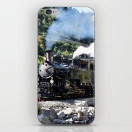 Steam Railway Furka-Bergstrecke iPhone Skin