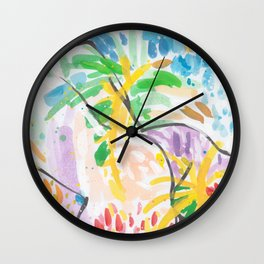 And Now, At Last Wall Clock