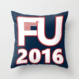 FU2016 Throw Pillow