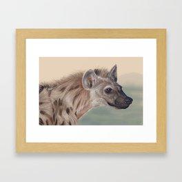 Nature's Comedian Framed Art Print