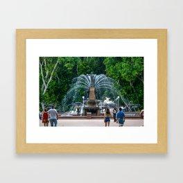 Archibald Fountain, Hyde Park, Sydney Framed Art Print