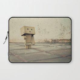 Danbo on the street Laptop Sleeve