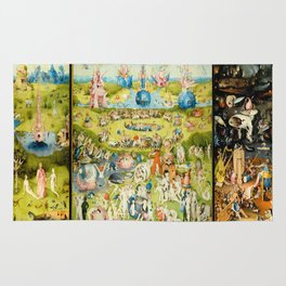 The Garden of Earthly Delights by Bosch Rug