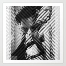 Cutting sharp Art Print
