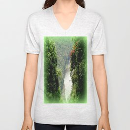 Crawford's Lookout - Cairns Hinterland Unisex V-Neck