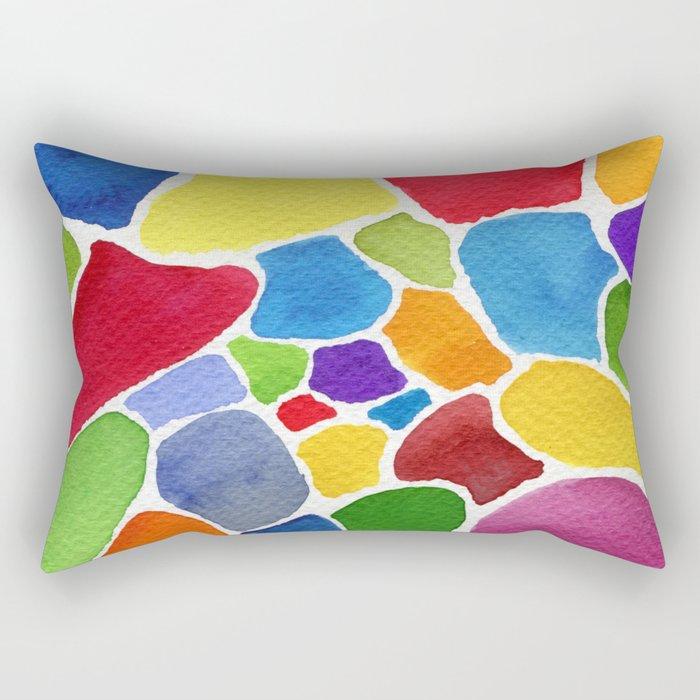 Boundaries Rectangular Pillow